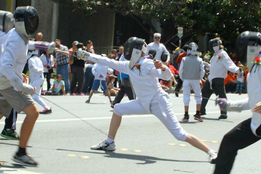 Fencing demonstrations with En Garde