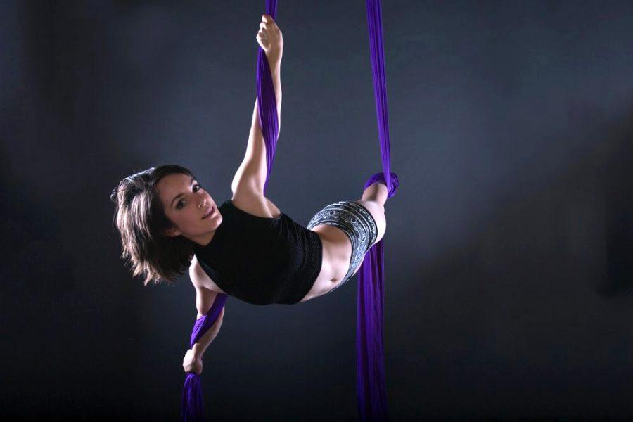 SoCo Aerial Collective aerial silks