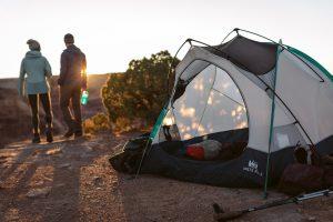 Beginning camping class REI