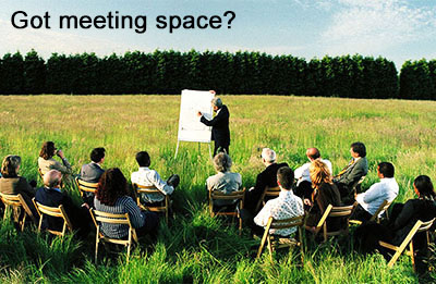 meeting space needed