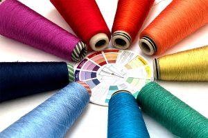 color fiber arts class
