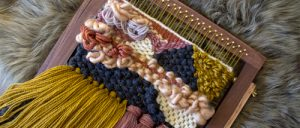 Tapestry weaving class