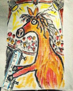 Clothes into art class