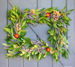 spring wreath making workshop